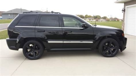 Blacked Out Jeep Grand Buy Used 2007 Jeep Srt8 Blacked Out In Ellendale
