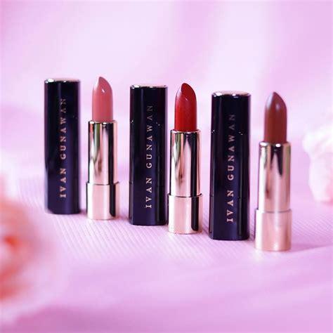 Ivan Gunawan Inez Blush On wajib kamu coba 7 produk lipstik milik artis indonesia