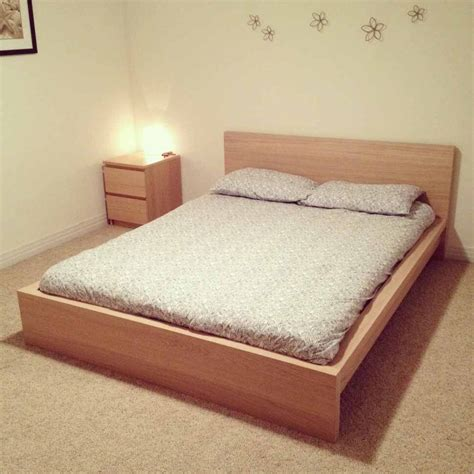 king ikea malm bed frame only in clydebank west