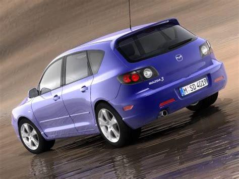 mazda 2004 models mazda 3 hatchback 2004 3d model max 3ds cgtrader