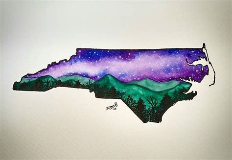 watercolor tattoos north carolina 25 best ideas about carolina on