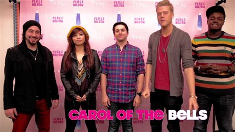 best carol of the bells version pentatonix quot carol of the bells perez performance quot