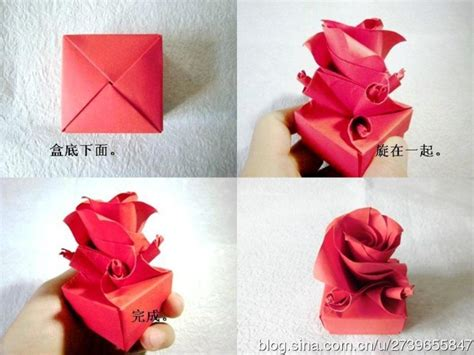 Origami Ideas For Valentines Day - how to fold origami paper craft box for