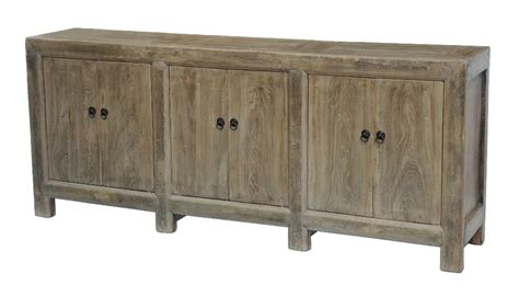 vintage media console sideboard cabinet buffet