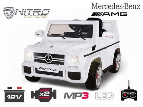 Mini Auto Elettriche Per Bambini by Auto Elettrica Per Bambini Mercedes Benz G65 Al Miglior