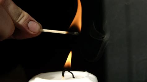 Lighting Candles by Lighting A Candle Without Touching It In Motion The