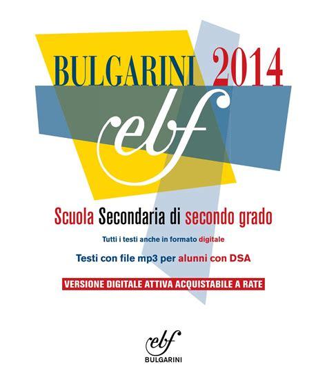 casa editrice bulgarini bulgarini catalogo superiori 2014 by bulgarini editore