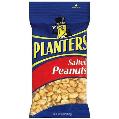 Planters Salted Peanuts by Bettymills Planters Peanuts Salted Big Bag Kraft Gen1258
