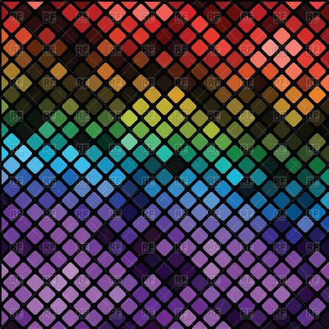 mosaic background shining mosaic background of multicolored tiles vector