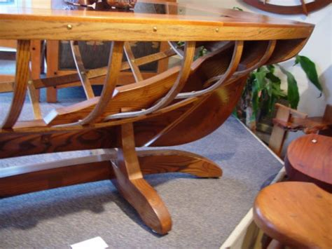 wooden boat coffee table coffee table quot boat quot northwest woodworking gifts