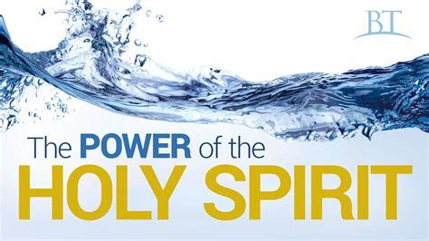 The Power Of beyond today the power of the holy spirit