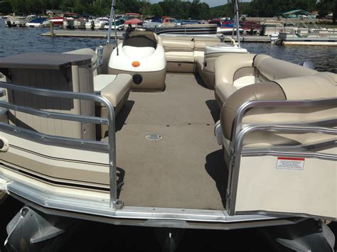 nj party boat prices sun tracker party barge 2002 for sale for 16 500 boats