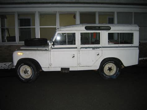 land rover defender safari 1964 land rover series safari wagon defender 110 project
