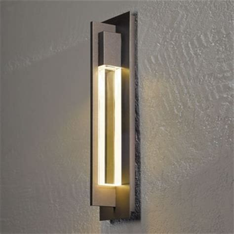 Outdoor Sconces Modern hubbardton forge axis medium outdoor wall sconce modern outdoor lighting by ylighting