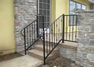 Portable Handrail System Hand Rails Amp Guard Rails Decorative Wrought Iron San