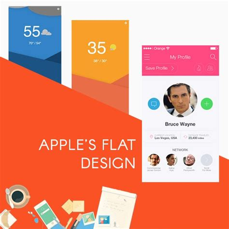 Material Design Google Vs Apple | google s material design vs apple s flat design which is