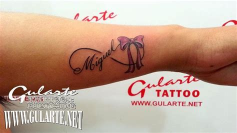 imagenes tatuajes q digan gustavo nombre miguel en tatuaje imagui