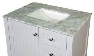 30 Inch Vanity Tops With Sink 30 In White Carrara Marble Counter Top With Rectanglar