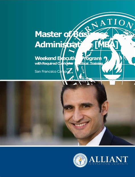Alliant International Mba alliant international mba program