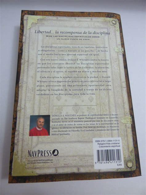 disciplinas espirituales para la 1496411315 disciplinas espirituales para la vida cristiana donald s w 36 000 en mercado libre