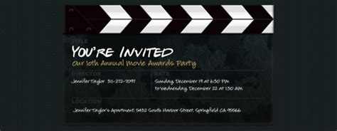premiere invitation template image gallery premiere invitation