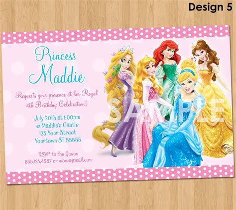 printable birthday invitations disney princess free princess invitation disney princess invitation birthday