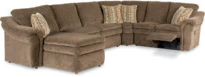 5 power reclining sectional with ras chaise and 2