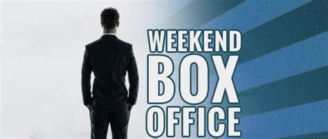Top Weekend Box Office by Weekend Box Office Valentines Weekend Sees Crappy Shades