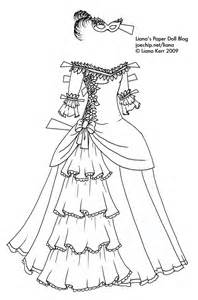 Ball gowns dolls black and white dresses sketches receptions