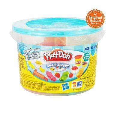 Mainan Doh Mini Donuts Doh Usia 3 jual playdoh mini sundae treats mainan anak