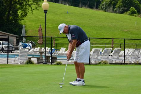 halls womens league golf tournament weathers rain knox