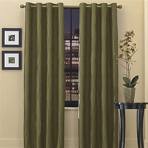 olive color curtains buy venice grommet top 63 inch window curtain panel in