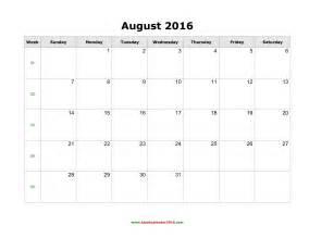 August 2016 calendar word 2017 printable calendar