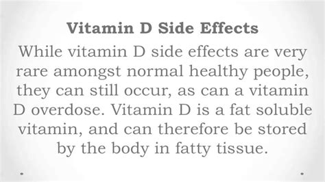 the counter hgh side effects side effects of vitamin d3
