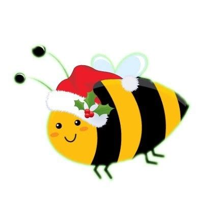 merry christmas  hob bee hive