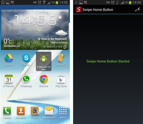 swipe home button androidmag de