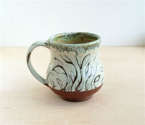 leaf pattern in coffee 256 best clara lanyi ceramics images on pinterest hand