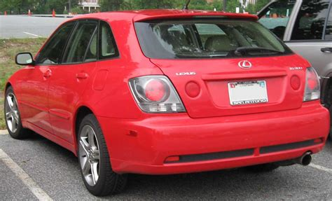 lexus hatchback is300 file lexus is300 sportcross jpg