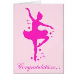 recital congratulations cards zazzle