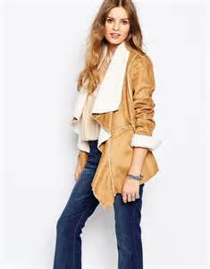 faux shearling drape jacket shop faux shearling jackets vests
