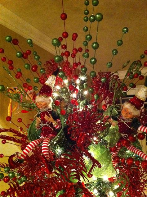 christmas tree toppers trendy tree blog