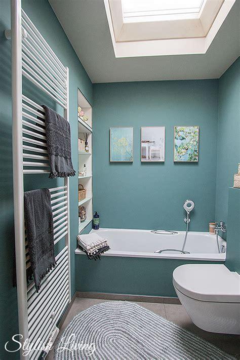 Kleines Badezimmer Welche Farben by Kleines Bad In Farbe Mit Wandleuchte Lena Click Licht