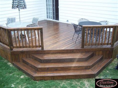 wood patio deck wood decks