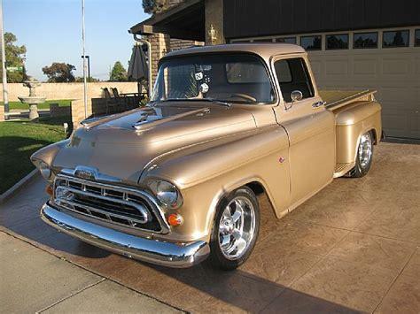1957 Chevy Truck Wheels For Sale 1957 Chevrolet Stepside Truck For Sale Santa