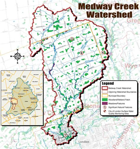 upper thames river conservation authority map medway creek watershed utrca inspiring a healthy