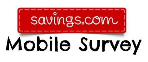 Sprouts Gift Card Survey - savings com mobile survey enter to win 50 amazon gift card