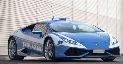lamborghini huracan polizia v10 powered car