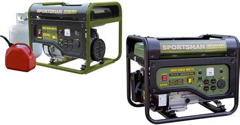 home depot sportsman 4 000 watt generators starting at