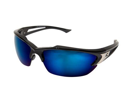 edge eyewear khor safety glasses black blue sdk118
