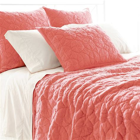 Coral Quilt by Marina Coral Quilt Pine Cone Hill